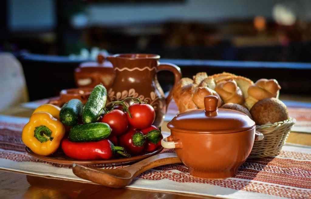 Moldavian menu La Badis
