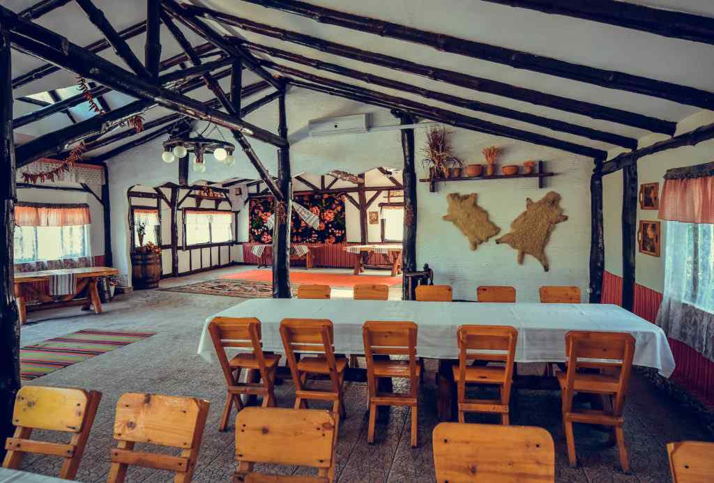 Traditional style terrace restaurant